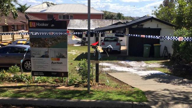Victoria Point property engulfed in flames prior to auction